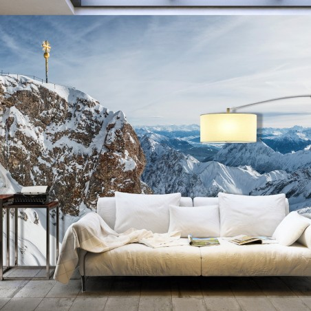 Fotomurale XXL - Winter in Zugspitze - Quadri e decorazioni