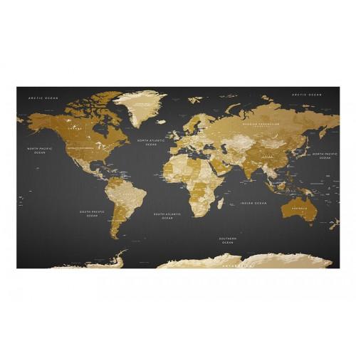Fotomurale XXL - World Map: Modern Geography II - Quadri e decorazioni