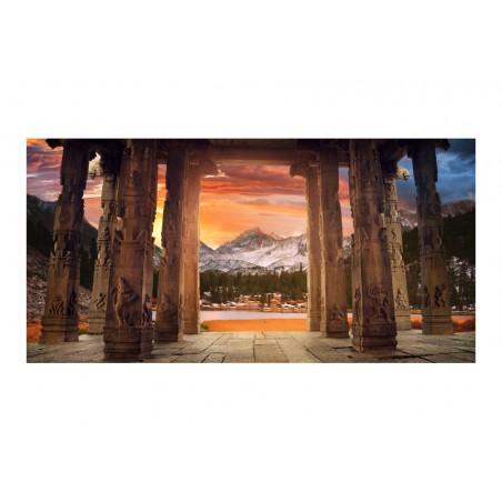 Fotomurale XXL - Sentiero dei templi rupestri - Quadri e decorazioni