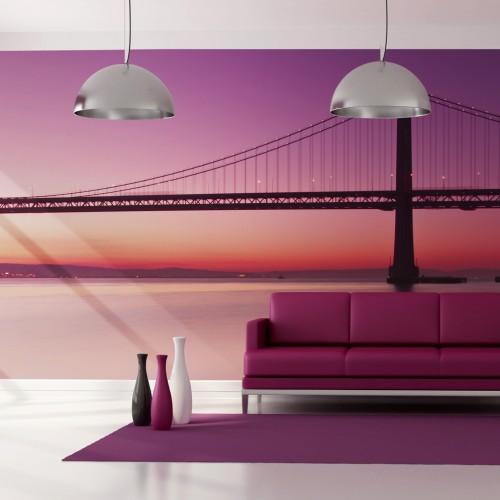 Fotomurale XXL - baia - San Francisco - Quadri e decorazioni