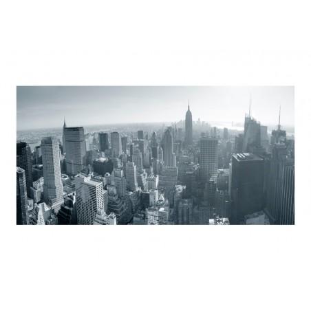 Fotomurale XXL - Panorama di New York in bianco e nero - Quadri e decorazioni