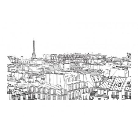 Fotomurale XXL - Da uno sketchbook parigino - Quadri e decorazioni