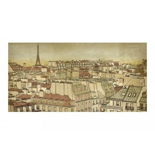 Fotomurale XXL - Addio Parigi! - Quadri e decorazioni