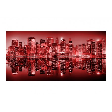 Fotomurale XXL - Red-hot NYC - Quadri e decorazioni
