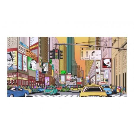 Fotomurale XXL - Ora di punta nel centro di New York - Quadri e decorazioni
