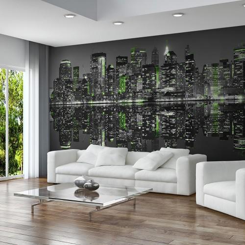 Fotomurale XXL - New York immersa nel sonno - Quadri e decorazioni