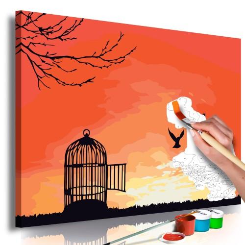 Quadro fai da te - Open Cage - Quadri e decorazioni