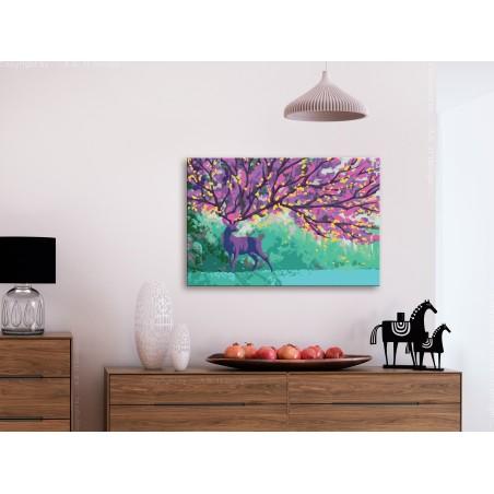 Quadro fai da te - Purple Deer - Quadri e decorazioni