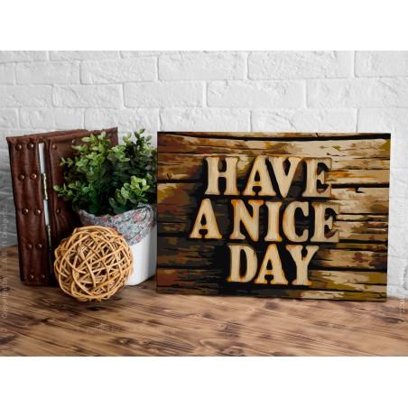 Quadro fai da te - Have a Nice Day - Quadri e decorazioni