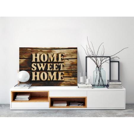 Quadro fai da te - Wooden Home - Quadri e decorazioni