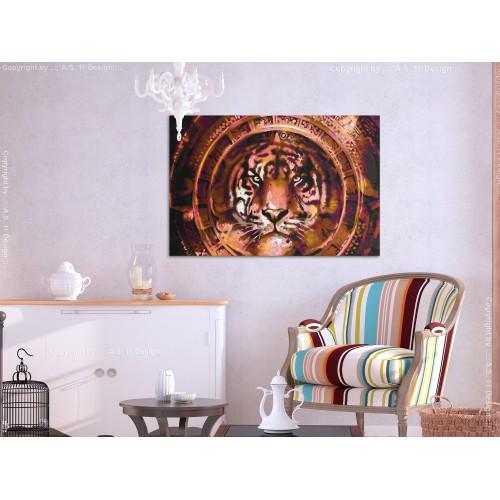 Quadro fai da te - Tiger and Ornaments - Quadri e decorazioni