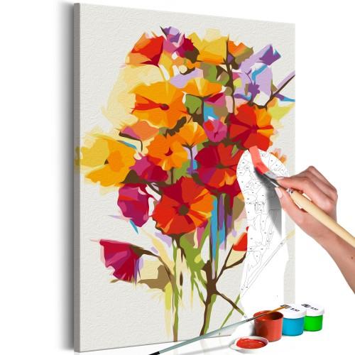 Quadro fai da te - Summer Flowers - Quadri e decorazioni