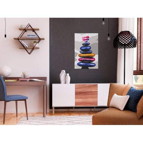 Quadro fai da te - Colored Pebbles - Quadri e decorazioni