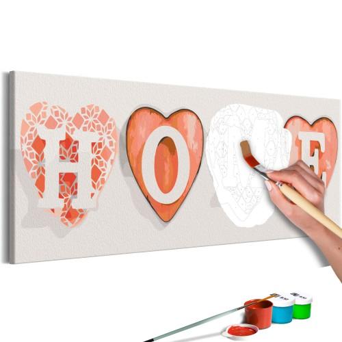 Quadro fai da te - Four Hearts - Quadri e decorazioni