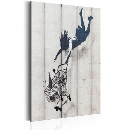 Quadro - Shop Til You Drop by Banksy - Quadri e decorazioni