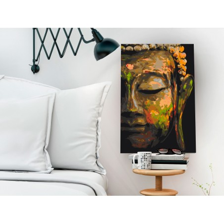 Quadro fai da te - Buddha in the Shade - Quadri e decorazioni