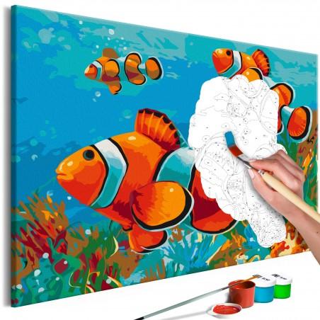 Quadro fai da te - Gold Fishes - Quadri e decorazioni