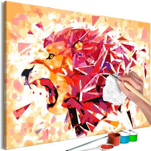 Quadro fai da te - Abstract Lion - Quadri e decorazioni