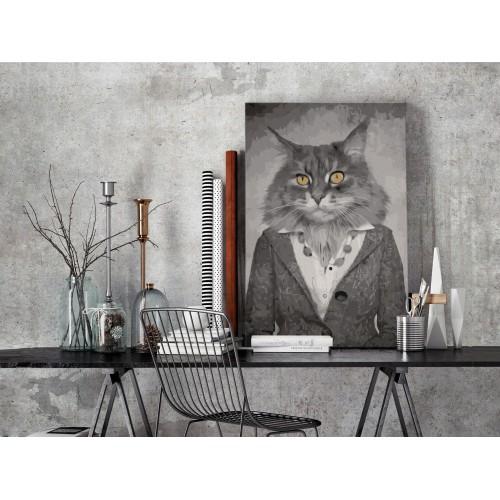 Quadro fai da te - Elegant Cat - Quadri e decorazioni