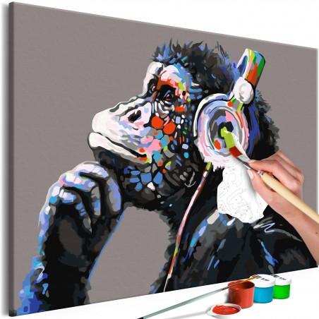 Quadro fai da te - Musical Monkey - Quadri e decorazioni