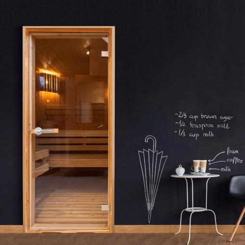 Fotomurale per porta - Sauna - Quadri e decorazioni