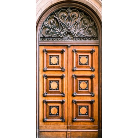 Fotomurale per porta - Antique Doors - Quadri e decorazioni