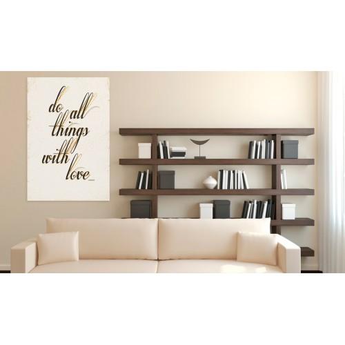 Quadro - La mia casa: Things with love - Quadri e decorazioni