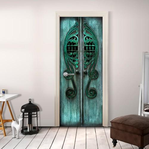 Fotomurale per porta - Emerald Gates - Quadri e decorazioni