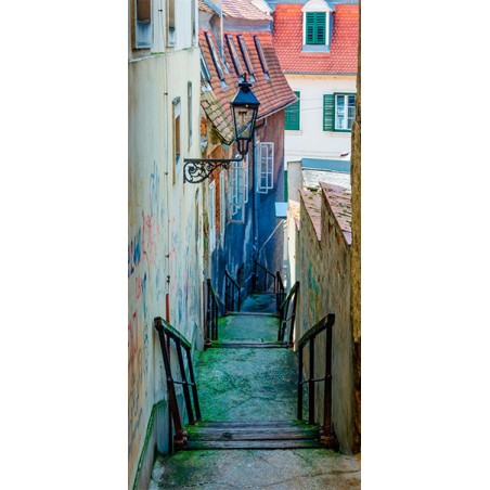 Fotomurale per porta - Croatian Alley - Quadri e decorazioni
