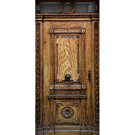 Fotomurale per porta - Medieval Entrance - Quadri e decorazioni