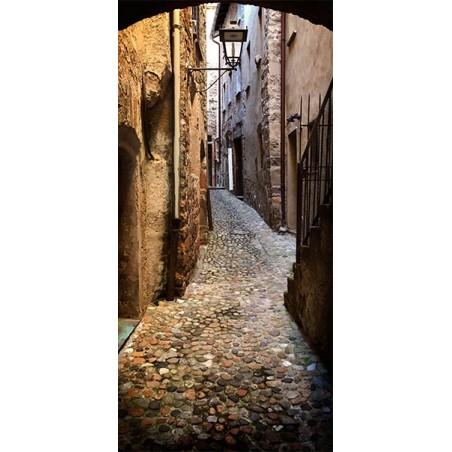 Fotomurale per porta - Stony City - Quadri e decorazioni