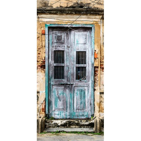 Fotomurale per porta - Old Door - Quadri e decorazioni