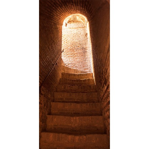 Fotomurale per porta - Secret Stairs - Quadri e decorazioni