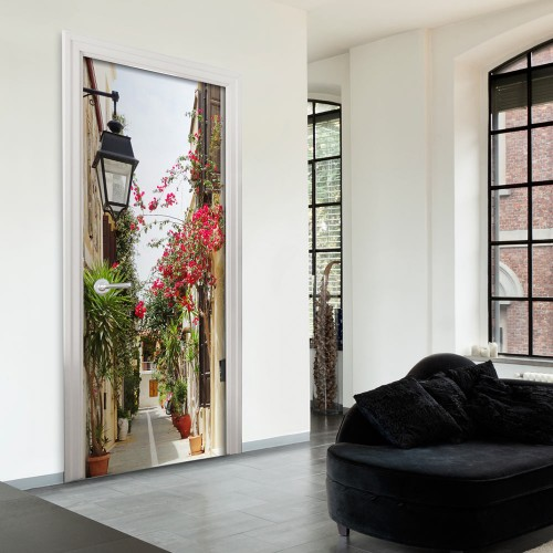 Fotomurale per porta - Charming Avenue - Quadri e decorazioni