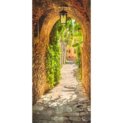 Fotomurale per porta - Alley in Italy - Quadri e decorazioni