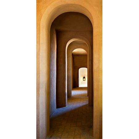 Fotomurale per porta - Old Monastery - Quadri e decorazioni