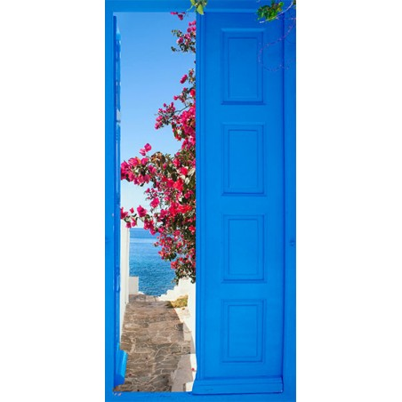 Fotomurale per porta - Door into Summer - Quadri e decorazioni