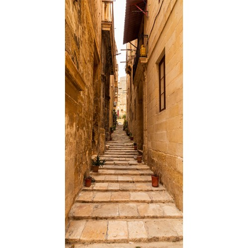 Fotomurale per porta - Photo wallpaper – Narrow alley I - Quadri e decorazioni