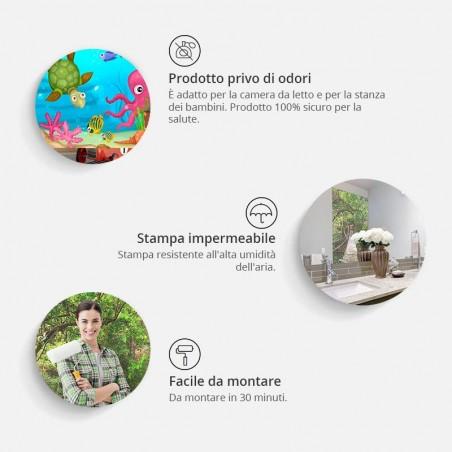 Fotomurale per porta - Photo wallpaper – Stairs from nature I - Quadri e decorazioni