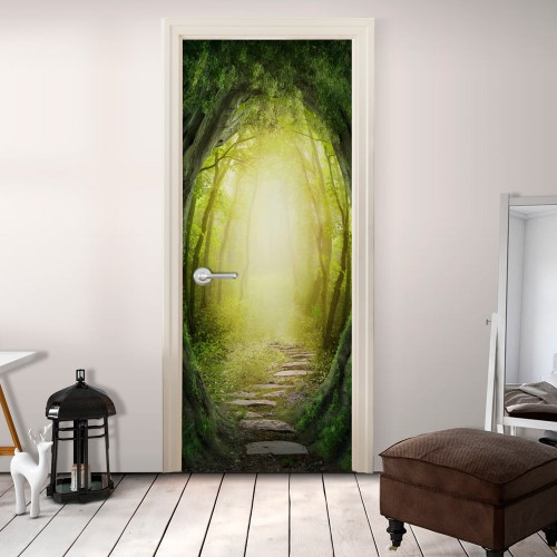 Fotomurale per porta - The Forest of Fantasy - Quadri e decorazioni