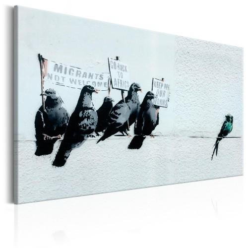 Quadro - Protesting Birds by Banksy - Quadri e decorazioni
