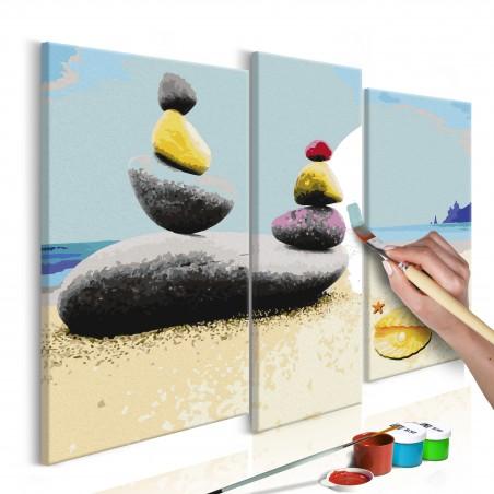 Quadro fai da te - Spiaggia d'estate - Quadri e decorazioni