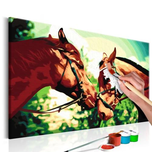 Quadro fai da te - Cavalli - Quadri e decorazioni