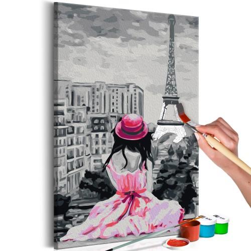 Quadro fai da te - Parigi - vista sulla Torre Eiffel - Quadri e decorazioni