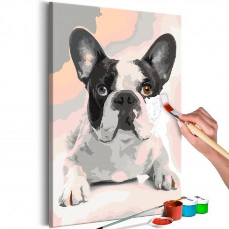 Quadro fai da te - Bulldog francese - Quadri e decorazioni
