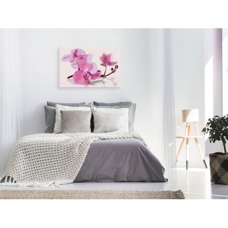 Quadro fai da te - Fiori di orchidea - Quadri e decorazioni