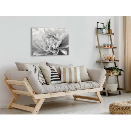 Quadro fai da te - Fiore bianco-nero - Quadri e decorazioni