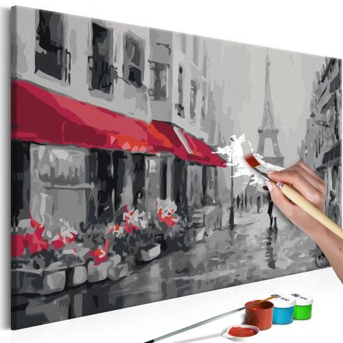 Quadro fai da te - Parigi immersa nella pioggia - Quadri e decorazioni