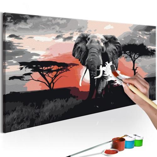 Quadro fai da te - Elefante (Africa) - Quadri e decorazioni