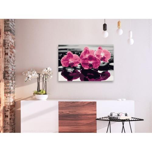 Quadro fai da te - Tre orchidee - Quadri e decorazioni